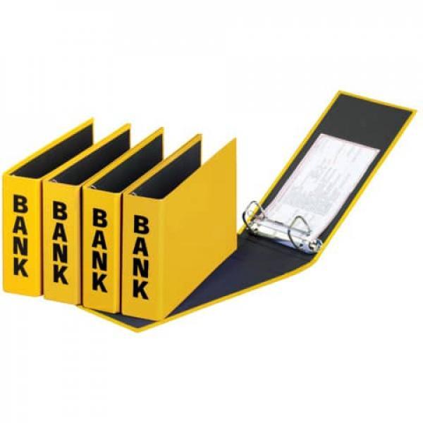 gelb Pagna® Bankordner Color-Einband Color Einband 50 mm A5