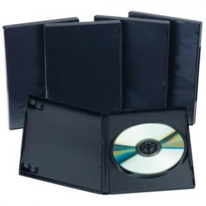 DVD Leerhüllen Hardbox für 1 DVD inkl. Booklet