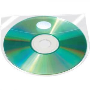 CD DVD-Hüllen selbstklebend mit selbstklebender Lasche transpare