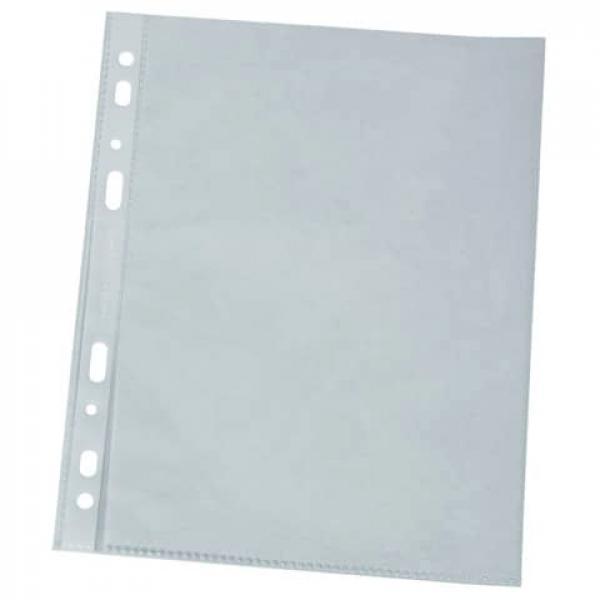 100 mym 100 St. A5 Q-Connect Prospekthülle glasklar