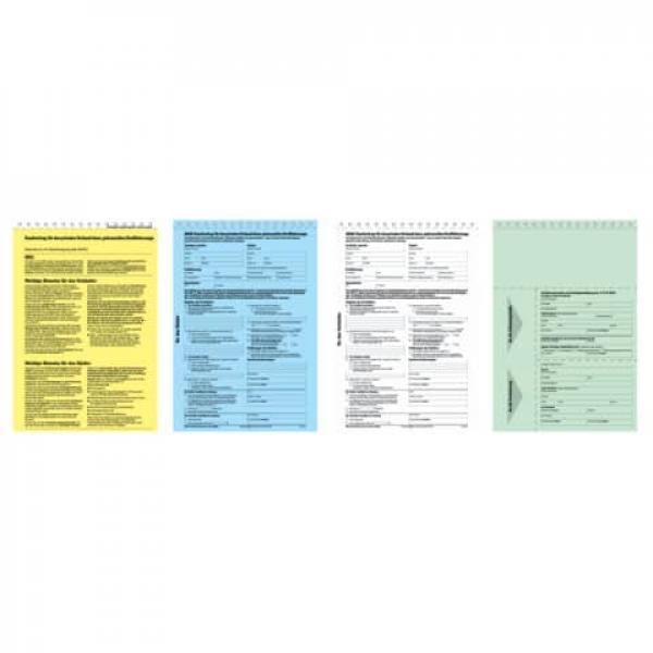 Kaufvertrag Für Gebrauchtes Kfz Offizieller Adac Vordruck A4 4