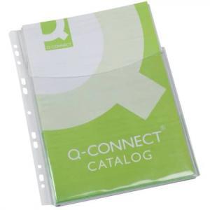 Klarsichthüllen für Kataloge glasklar 0,18 mm A4, Folie 3 4 Höhe