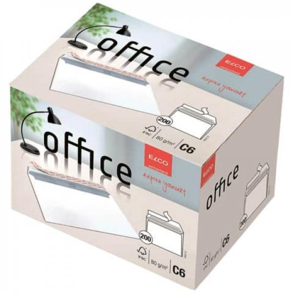 Briefumschlag Office In Shop Box C6 Hochweiß Haftklebend Ohne F