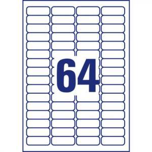 Avery Zweckform L6021REV-25 Sichtreiter-Etiketten 45,7x16,9 mm 2