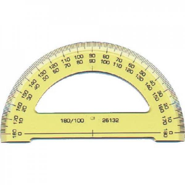 Winkelmesser 180° Halb