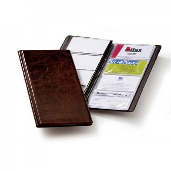 Durable Durable Visitenkartenbuch Visifix 96 115x253 Mm Braun