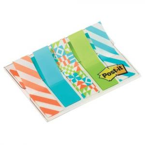 Post-it Index im Etui Motiv Geo Collection Mini 5x20 Haftstreife