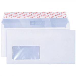 Briefumschlag premium C5 6, 229x114 mm hochweiß haftklebend Inne