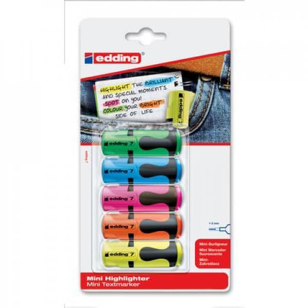 edding 345 Textmarker neonrot