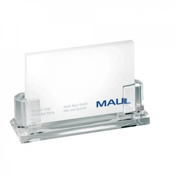 Maul Maul Acryl Visitenkarten Halter Ca 35 Karten 110x44x32 Mm