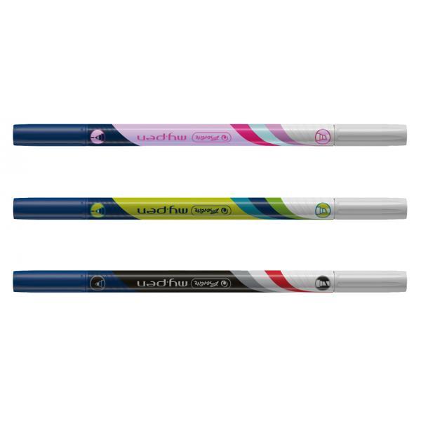 Kunststoff 170 mm lang herlitz Flachlineal my.pen