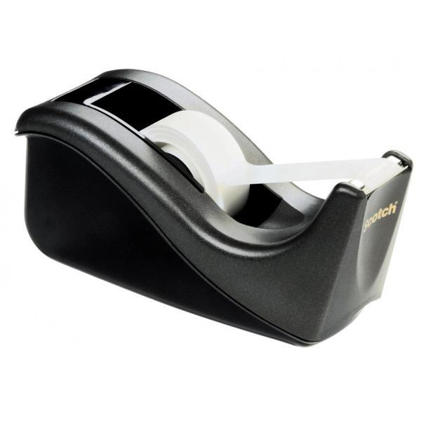 Scotch 3M Tischabroller C60 ausklappbar silber//schwarz