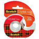 Scotch Klebefilm Crystal Clear 600, inkl. Handabroller