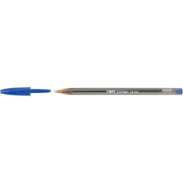 blau BIC Kugelschreiber Cristal Large Strichfarbe