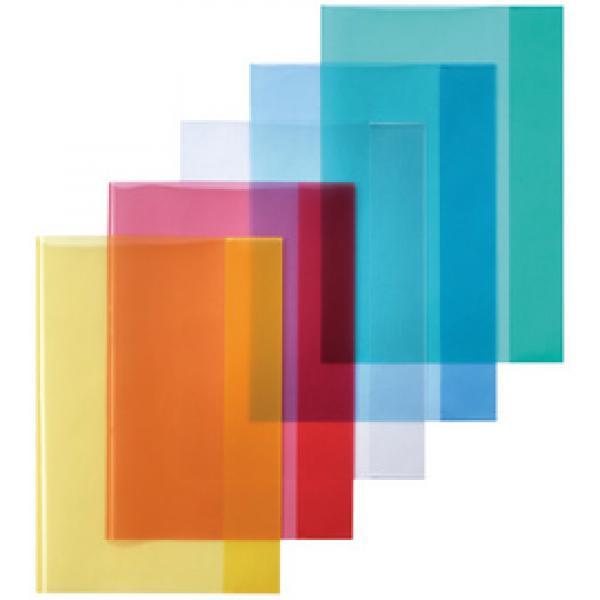 25 Heftumschläge Hefthüllen DIN A4 Farbe transparent grün