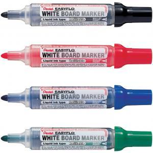 blau Pentel Whiteboard-Marker EASYFLO MW50M Rundspitze