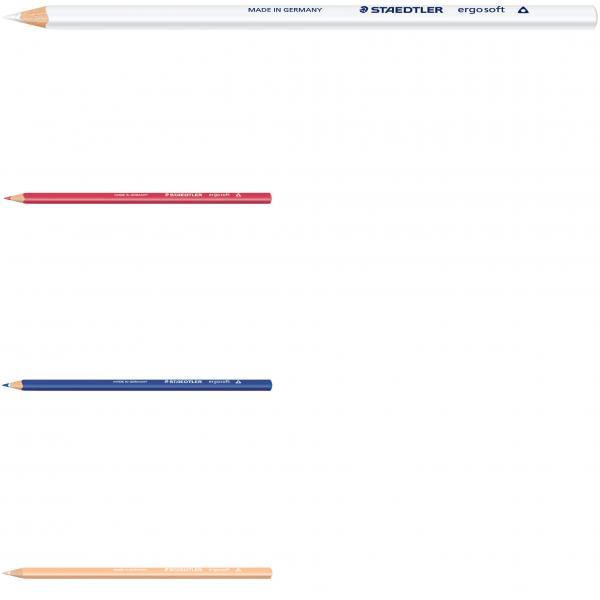 Staedtler Ergosoft 76 van dyke braun Farbstift in Dreikantform