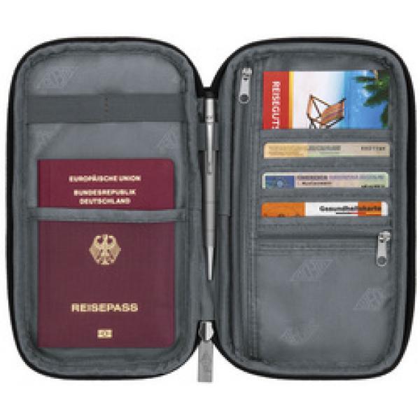 Reise Organizer Aus Polyester Schwarz Wedo 59 2601 4003801861081