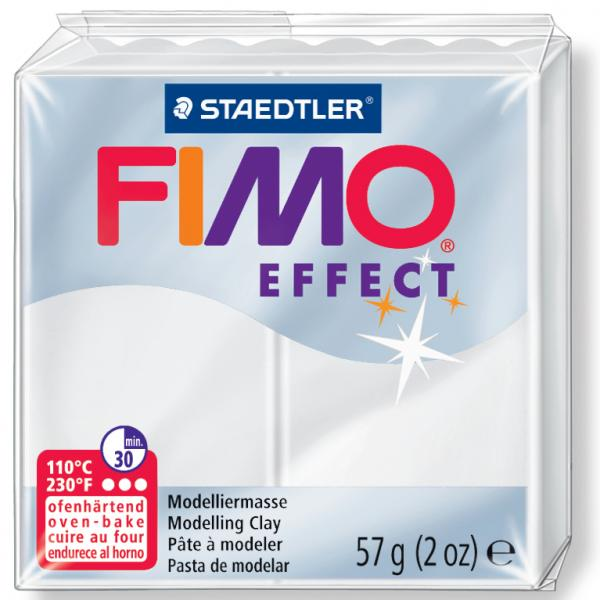 ofenhärtend FIMO EFFECT Modelliermasse transparent-blau