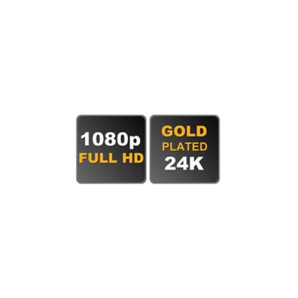HDMI Stecker  - DVI-D 24+1 Kupplung