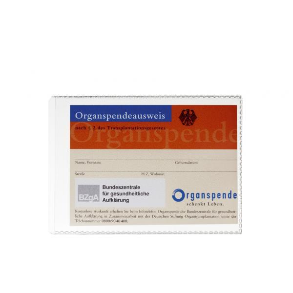 2133-19 4005546216652 aus PP DIN A6 DURABLE Ausweishülle transparent