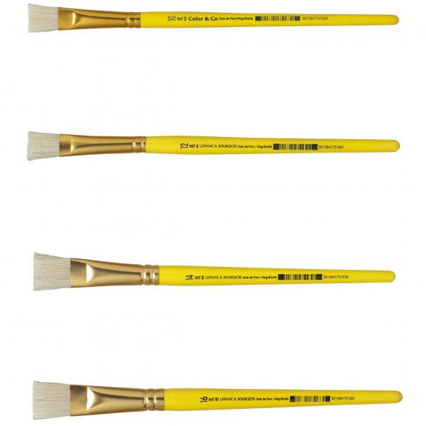 14 LEFRANC /& BOURGEOIS Haarpinsel PONY Gr
