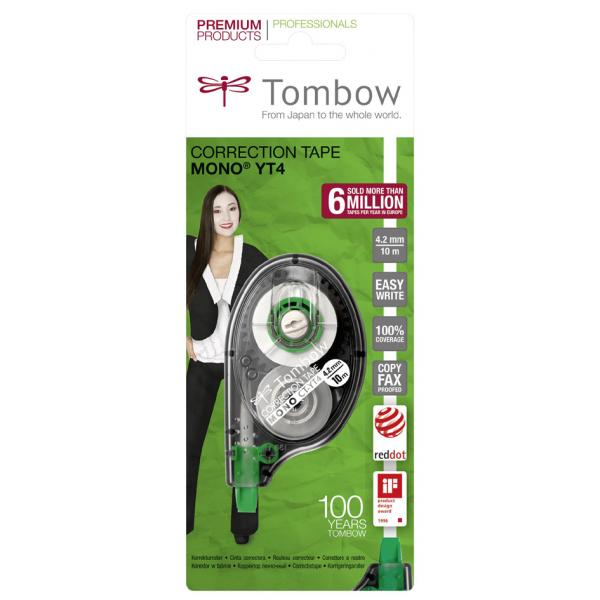 CT-CA4-B 2 mm x 10 m Tombow Korrekturroller ´MONO air´ 4003198503045 4