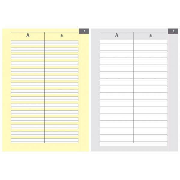 OXFORD Wörterheft Lineatur: 3W DIN A5-28 Blatt 1 Stück