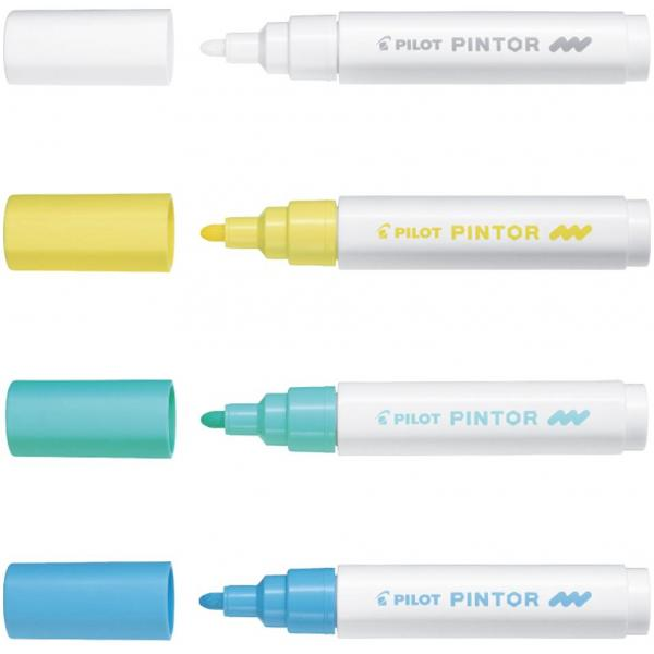 PILOT Pigmentmarker PINTOR medium pastellgrün