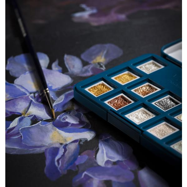 48er Set im Metall-Etui ROYAL TALENS Aquarellfarbe Van Gogh