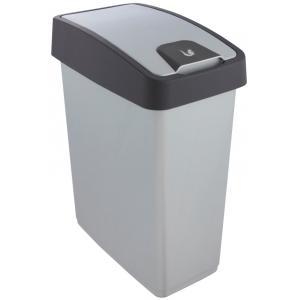 keeeper Abfallbehälter ´magne´, 25 Liter, graphite / grün