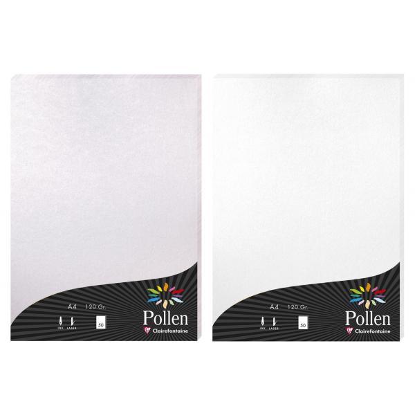 A4 Pollen Papier 120g 50 Blatt gold