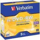 DVD+RW 5erPack