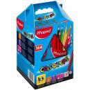 Dreikant-Buntstift COLOR'PEPS 144er Schulpaket