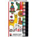 Marabu Window Color Set ´LAMA´, 10 x 25 ml (4007751720313)