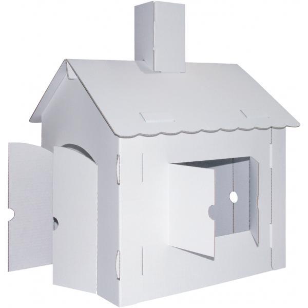 kreul spielhaus xl joypac aus wellpappe 4033657952572. Black Bedroom Furniture Sets. Home Design Ideas