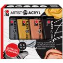 Acrylfarben-Set ARTIST ACRYL 4 x 75 ml Tube
