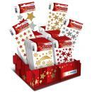 Weihnachts-Sticker MAGIC Glittery Sterne