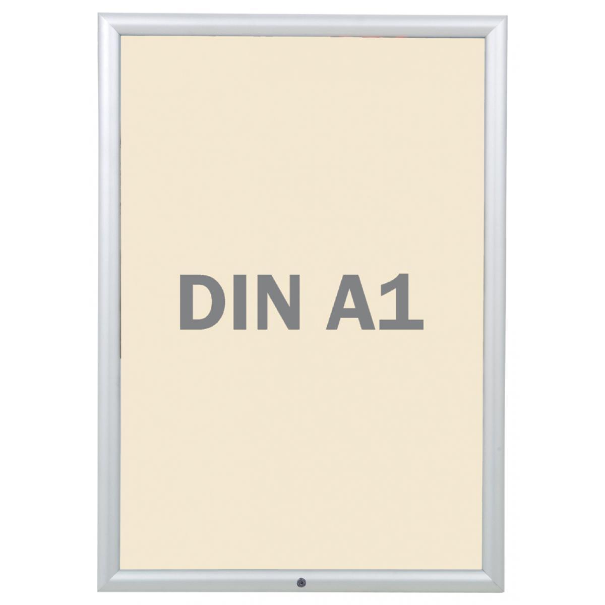 FRANKEN PLAKATRAHMEN Security, DIN A4, 32 mm Rahmenprofil ...