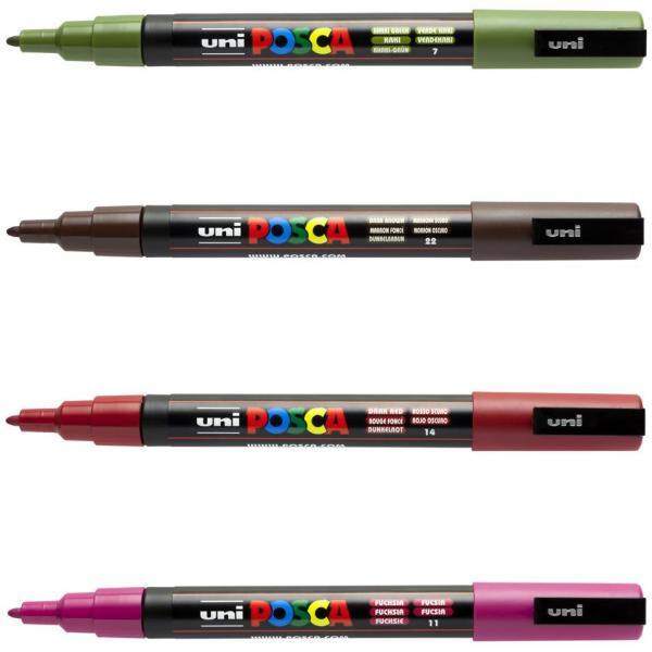 PC-3M uni-ball Pigmentmarker POSCA apfelgrün